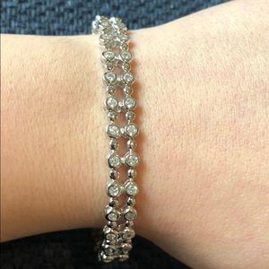 Jewelry - Women's double row tennis bracelet